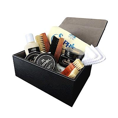 【SAPHIR莎菲爾-金質】皮革鏡面亮光保養禮盒