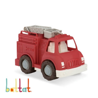 美國【B.Toys】Wonder Wheels系列-衝第一救火車玩具