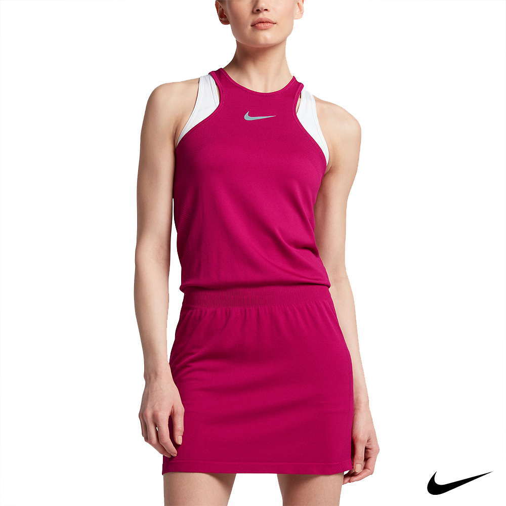 Nike Golf 女子運動無袖洋裝裙 桃 831423-607