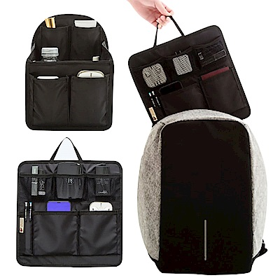 EZlife雙肩背包專用包中包(贈便攜冰包6入試用組)