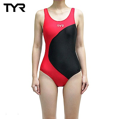 美國TYR 女款連身泳裝 Adra Maxback Red