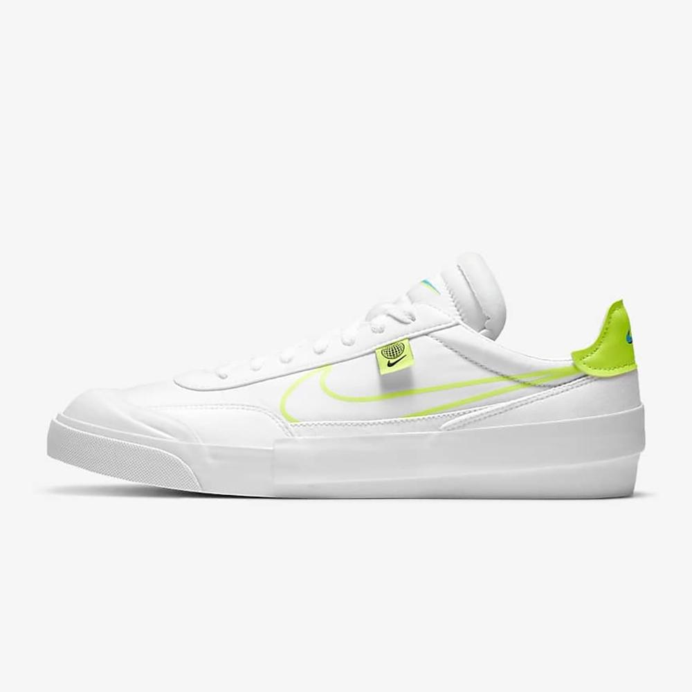 Nike Drop-Type HBR WW 男休閒鞋-白綠-CZ5847100