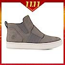 Timberland 女款灰色正絨面皮革 Londyn 休閒鞋|A1S3R