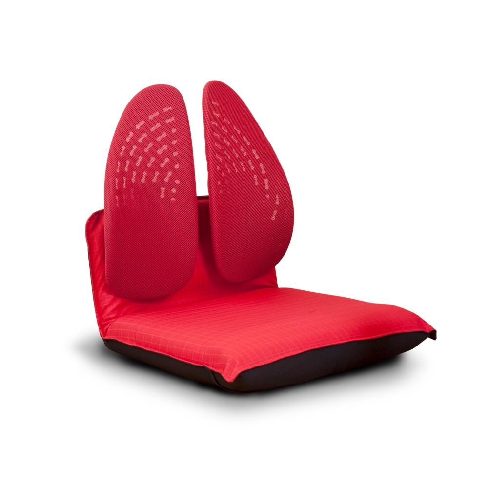 Birdie-德國專利雙背護脊摺疊式和室椅-紅色-46x50x50cm