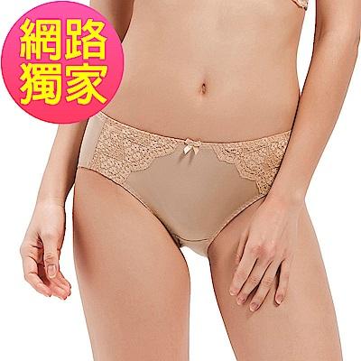 黛安芬-花漾輕塑系列平口內褲 M-EL 百搭膚