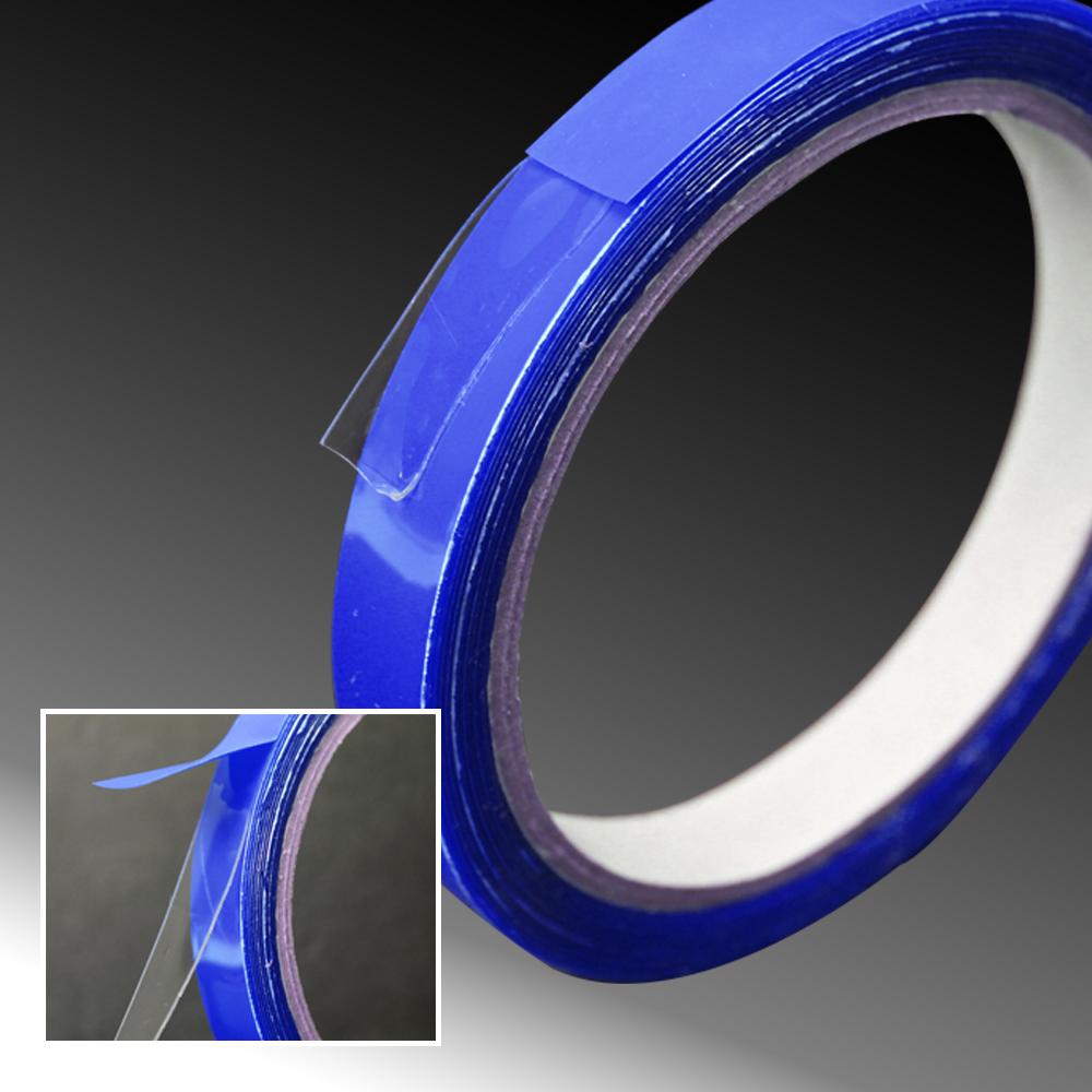 【Incare】超薄0.5MM萬用透明雙面超黏矽膠帶(小號/6捲入組)