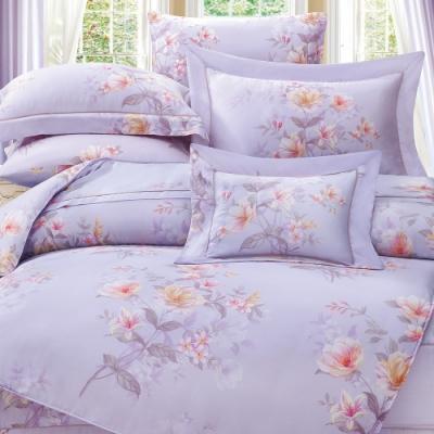 岱思夢   雙人 60支天絲兩用被床包組   夏洛特-紫