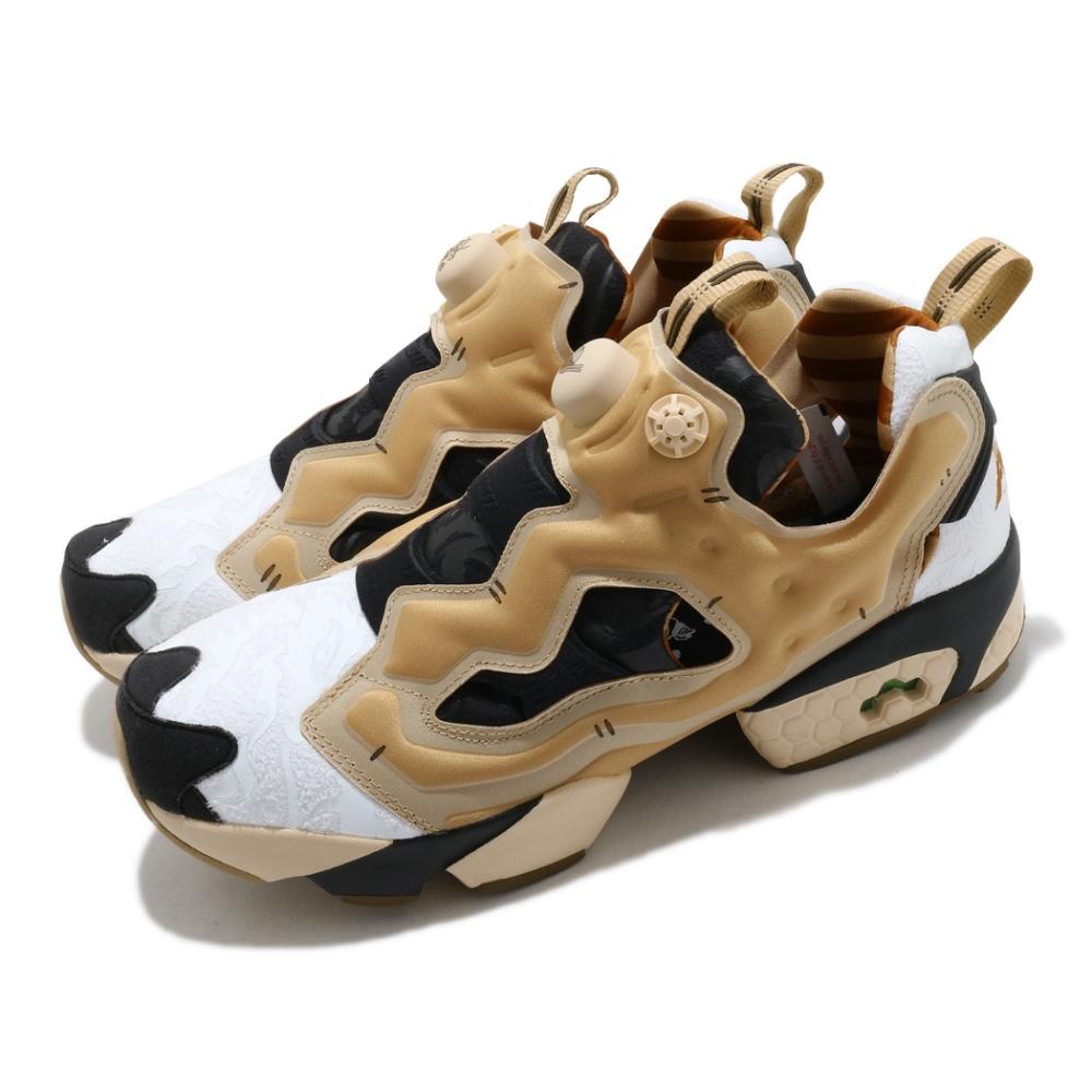 Reebok 休閒鞋 Instapump Fury OG 男女鞋 經典款 充氣科技 舒適 避震 襪套 情侶鞋 黑金 GZ8632