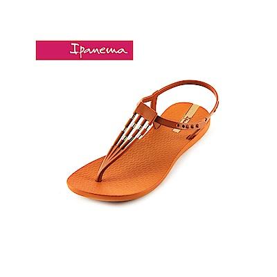 IPANEMA Premium sunray T字涼鞋-咖啡色