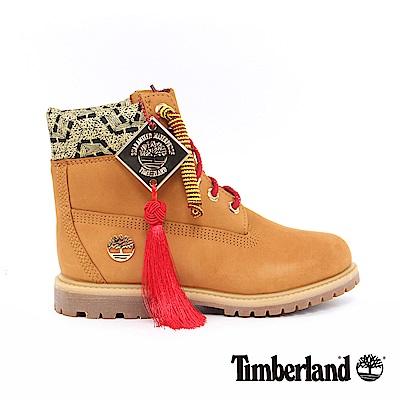 Timberland 新春限定女款小麥黃經典6吋靴