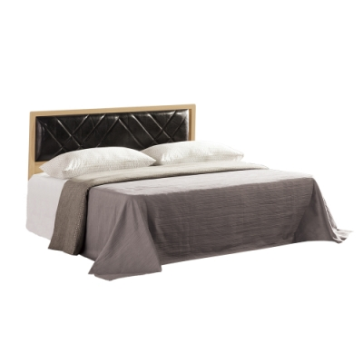 Bernice-安德斯5尺雙人床組(床頭片+床底)(不含床墊)