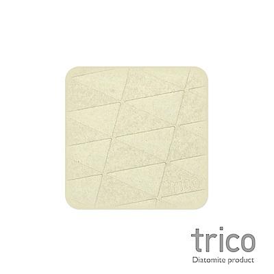TRICO 極簡速乾珪藻土杯墊/皂墊-奶油