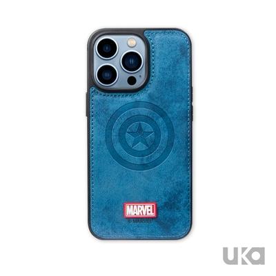 Marvel 漫威 iPhone 13 Pro Max 6.7吋 英雄系列精緻布紋防摔保護殼(4款)