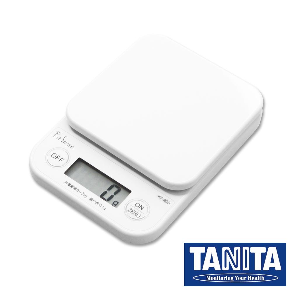 TANITA廚房迷你電子料理秤&電子秤-2kg-白色