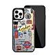Casetify iPhone 12 Pro Max 輕量耐衝擊保護殼-倫敦印象(黑) product thumbnail 1