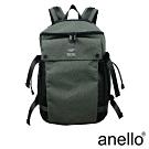anello 海外限定率性軍風休閒後背包 灰綠色