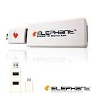 ELEPHANT ON-THE-GO手機擴充3個USB埠(OTG-002-W)白