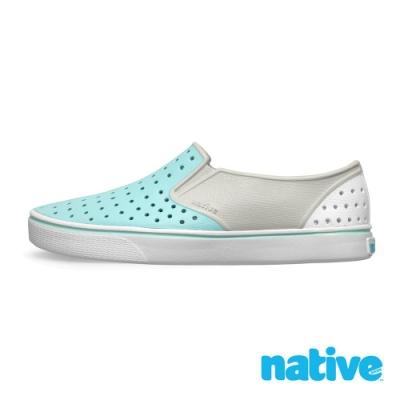 native MILES BLOCK 男/女鞋-霧灰x濕地藍