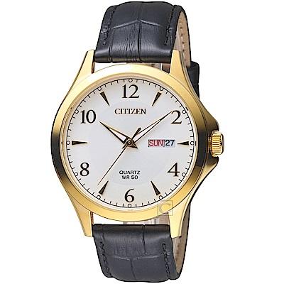 CITIZEN星辰經典雅痞時尚腕錶(BF2003-25A)