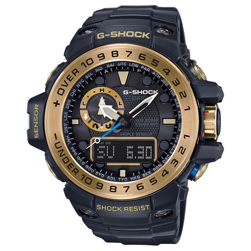 G-SHOCK 海洋探險家電波運動錶(GWN-1000GB-1A)-55.8mm @ Y!購物