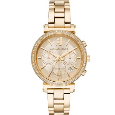 Michael Kors MK 維納斯計時腕錶(MK6559)金色