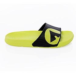 【AIRWALK】 防滑耐磨室內外拖鞋-淺綠