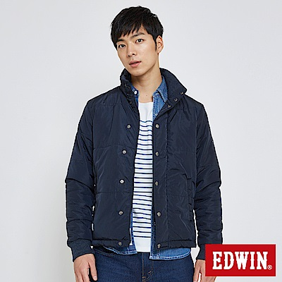 EDWIN-超輕量防寒外套-男-丈青