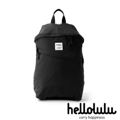 Hellolulu EVE旅行收納可折疊後背包-黑