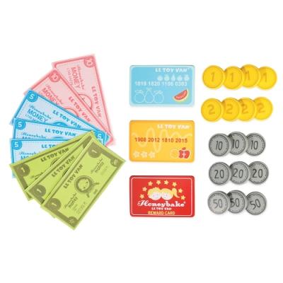 英國 Le Toy Van 角色扮演系列-多元貨幣付款玩具組