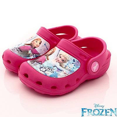迪士尼童鞋 冰雪超輕量涼鞋款 EI4012桃(中小童段)