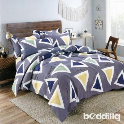 BEDDING-多款-活性印染單人全鋪棉床包兩用被套三件組