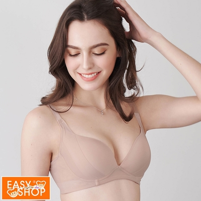 EASY SHOP-Light Touch-顯瘦無痕內衣-奶茶色