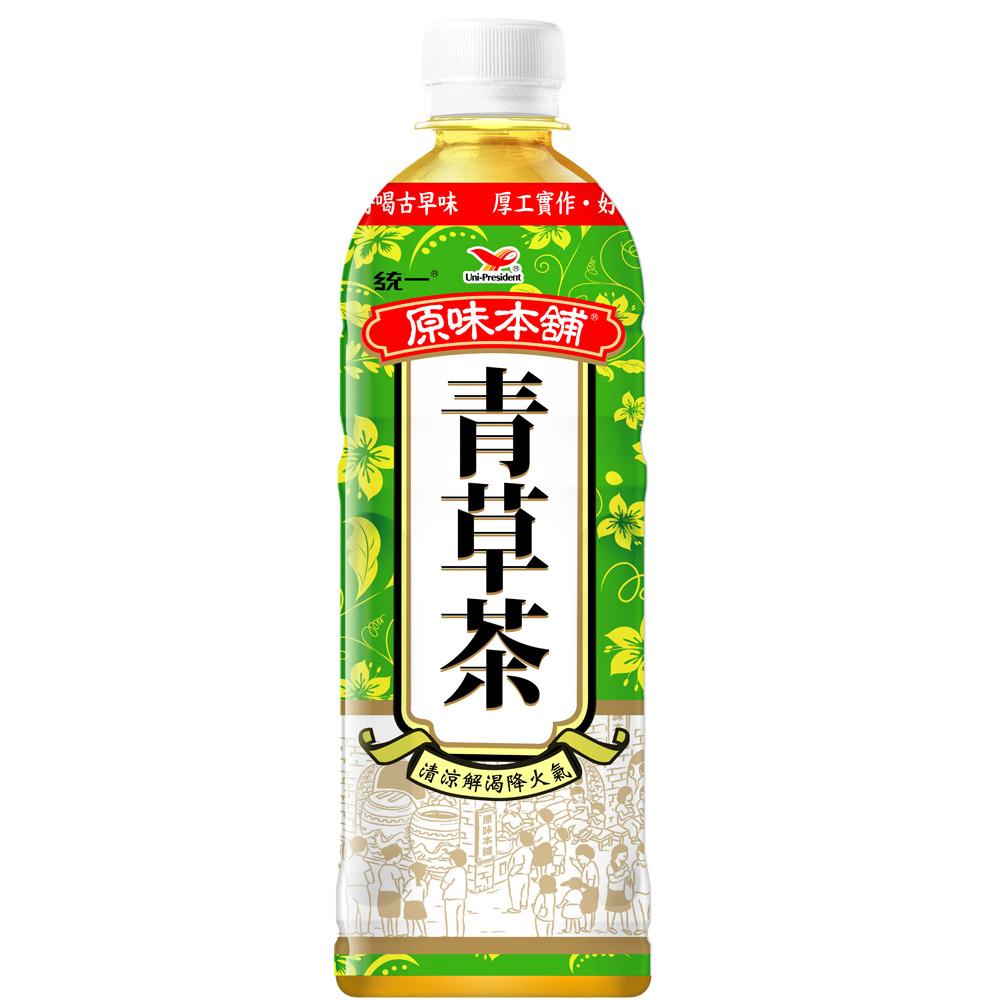統一 原味本舖-青草茶 600ml-24入/箱
