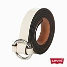Levis 女款 皮帶 / 奶油白 / 圓釦環