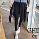 Jilli-ko 雪紡假裙彈力內搭褲- 黑 product thumbnail 1