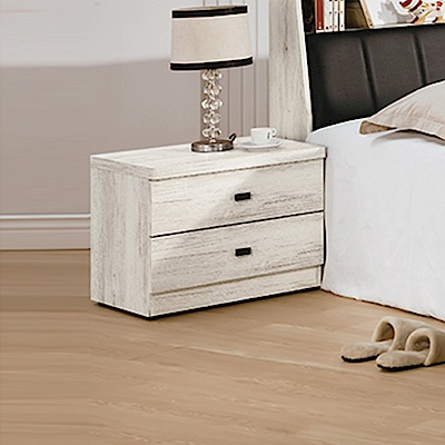 AS-卡特古橡木床頭櫃-52x40x45.5cm