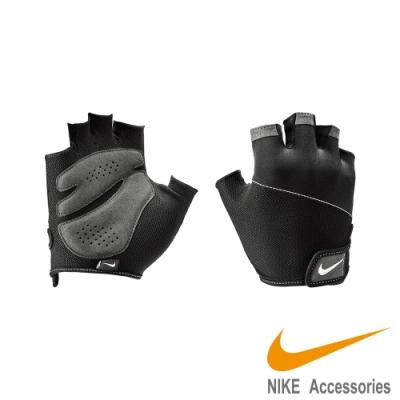 NIKE WOMEN S GYM 女用 訓練 基礎運動手套 黑灰 NLGD2010