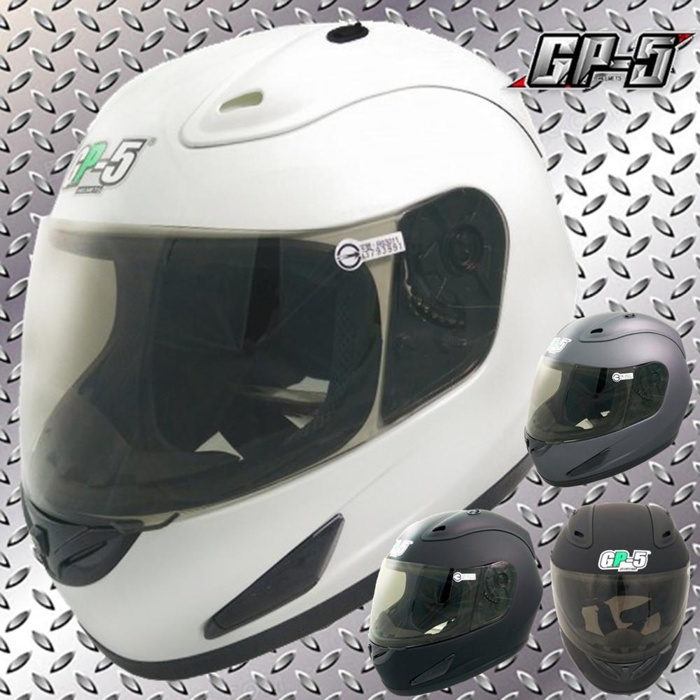 【GP-5】加大款全罩式安全帽│大尺寸大頭圍│機車│內襯│鏡片│全可拆│全罩式 (白色)