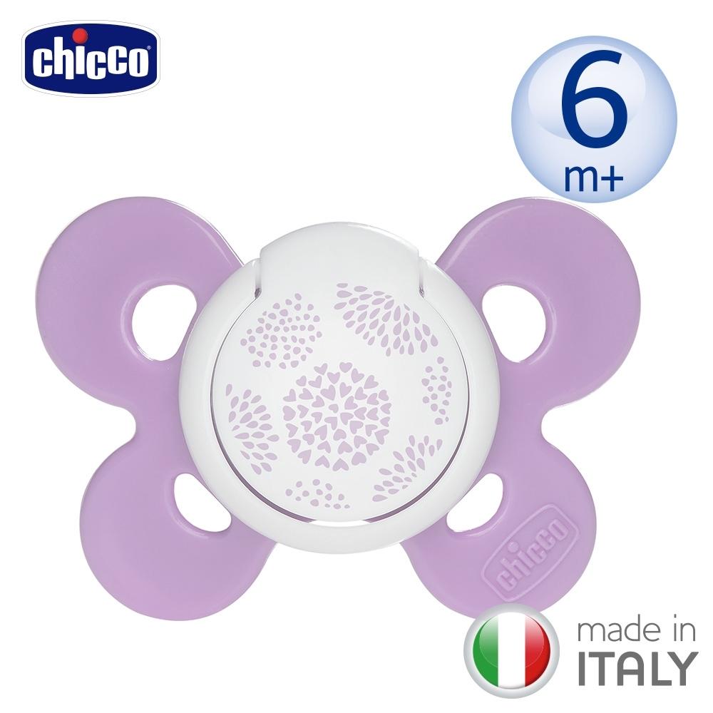 chicco-舒適哺乳-機能型矽膠安撫奶嘴1入-中(多款)