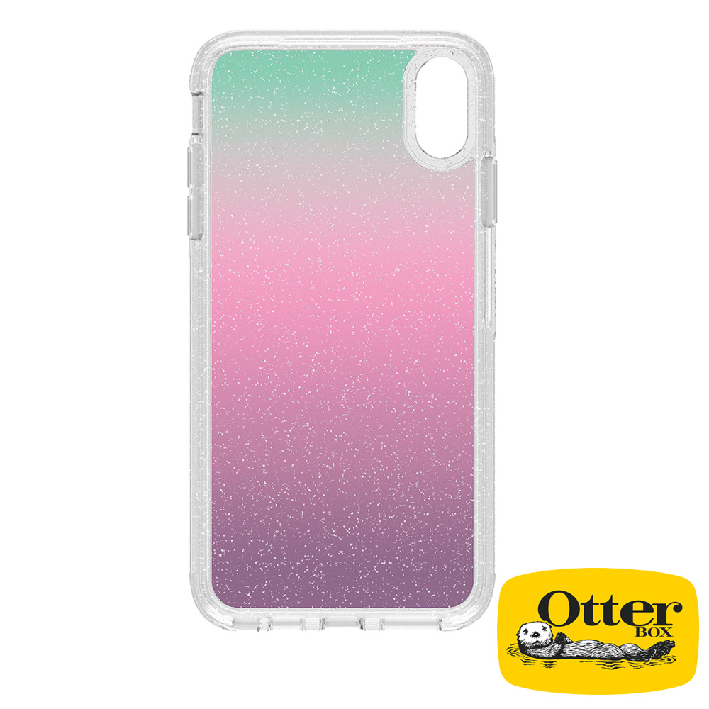 OtterBox iPhoneXR 炫彩幾何透明系列保護殼-繽紛晶透