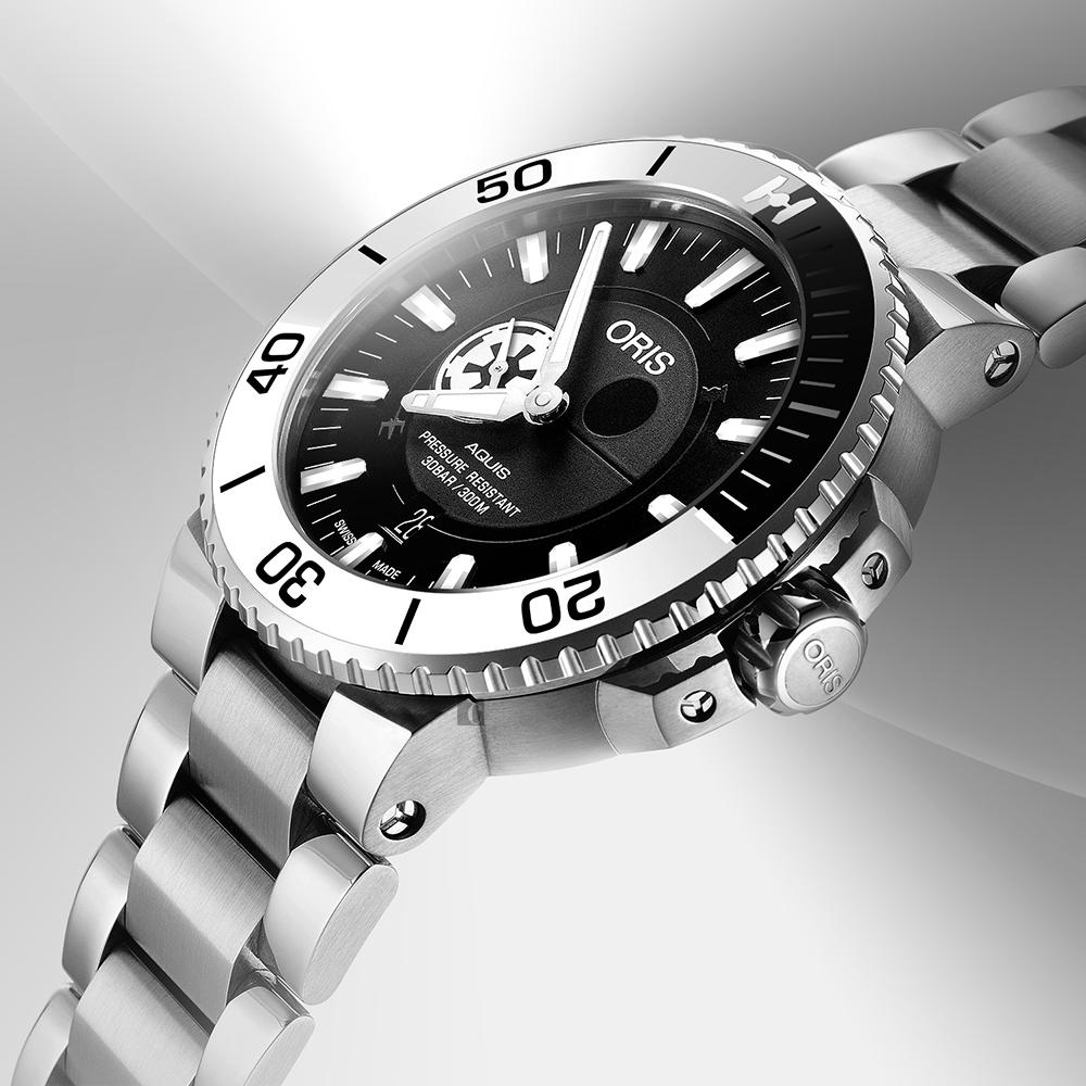 Oris 豪利時 Stormtrooper 星際大戰限量機械錶-43mm