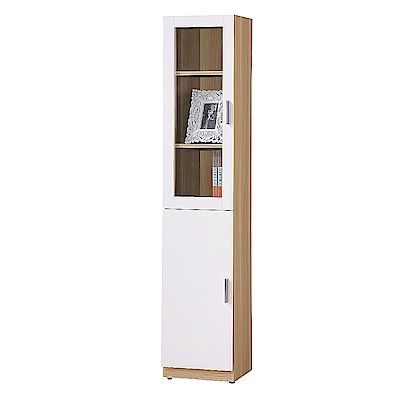 AS-金吉斯1.3尺二門書櫃-40x32x183cm(兩款可選)