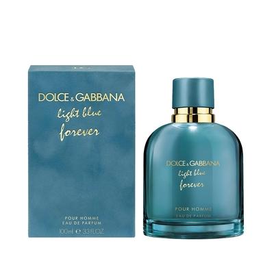 DOLCE & GABBANA D&G light blue forever 淺藍詠愛男性淡香精100ml