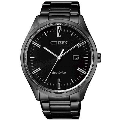 CITIZEN 時光情人光動能腕錶/BM7355-82E