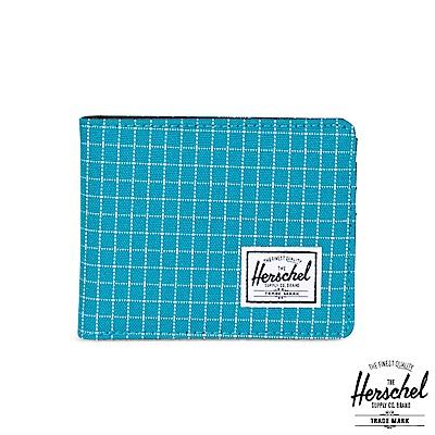 Herschel Roy 短夾-藍色格紋