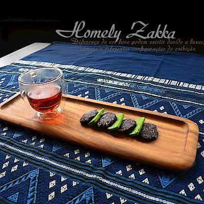 Homely Zakka 木趣食光相思木和風大長盤/點心盤/壽司盤/茶盤 (大)