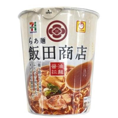 日本7-11限量 飯田商店醤油拉麵 3杯(每杯約99g)