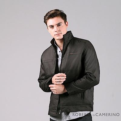 ROBERTA諾貝達 帥氣型男 內裡厚舖棉夾克外套 暗褐