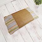 凱蕾絲帝-台灣製造-純天然清涼透氣紙纖綠豆枕-兒童枕(43X25cm)
