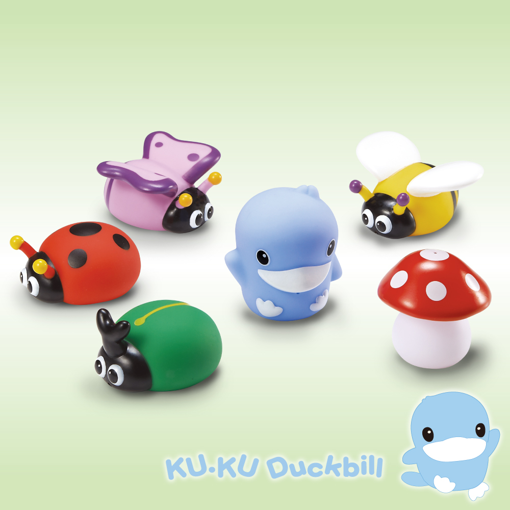 KU.KU酷咕鴨-水中玩具花園昆蟲組 @ Y!購物